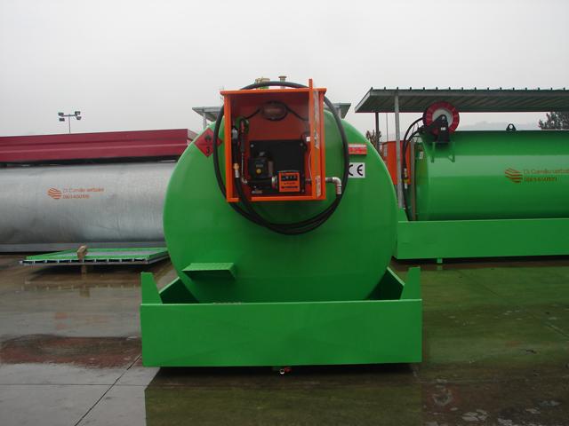 Storage Diesel Tanks Storage Diesel Tank 1200 Liters