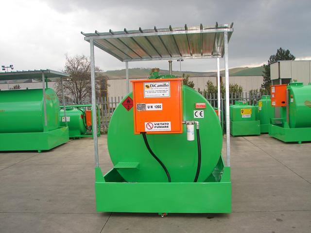 Storage Diesel Tanks Storage Diesel Tank 9000 Liters