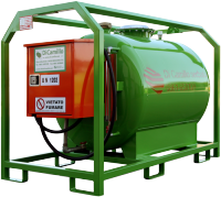 Carbon Steel Transport Diesel Tank 1000 Liters